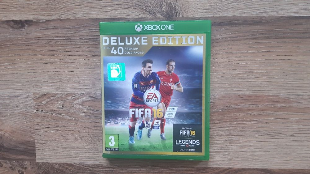 Fifa 16 Deluxe Edition Xbox One Augustów - image 1