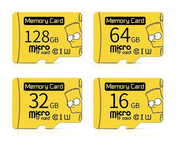 Карта памяти micro sd 64, 128 (10класс)