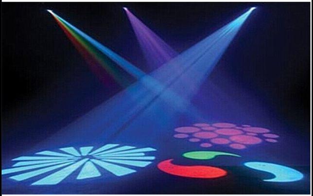 Som e Luz para Festas.