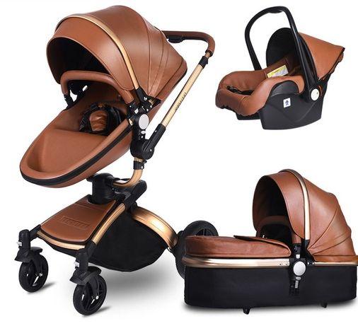 Wózek 3w1 AULON Mima Xari Stokke Cybex Hot MOM
