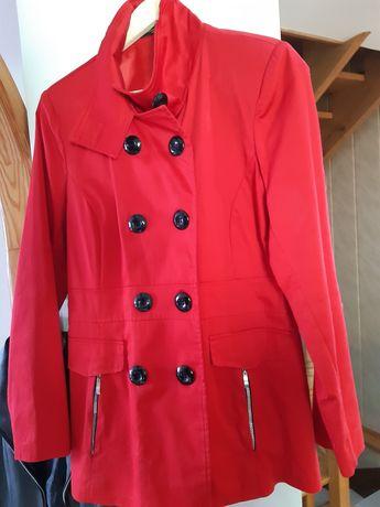 Elegancka kurtka krótki płaszczyk  wiosenny