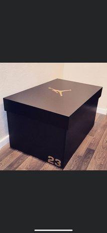 Szafka na buty duża sneakers drewno