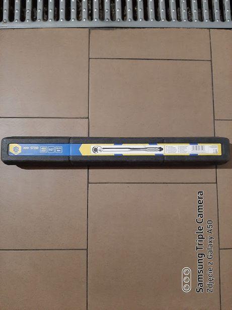 """VOREL Klucz dynamometryczny 465mm 1/2"""" 28-210 Nm z grzechotką"""