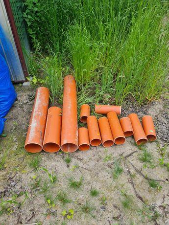 Rury wodno-kanalizacyjne