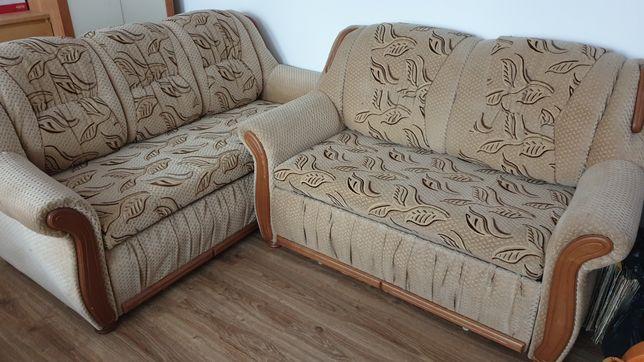 Piękna sofa rozkładana - spanie dla 3 osób