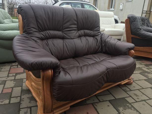 Продам шкіряний диван