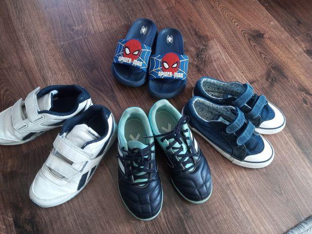 Buty dla chlopca adidasy trampki klapki 30-31