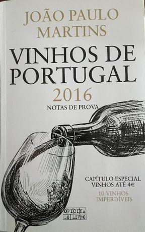 Livro Vinhos de Portugal 2016