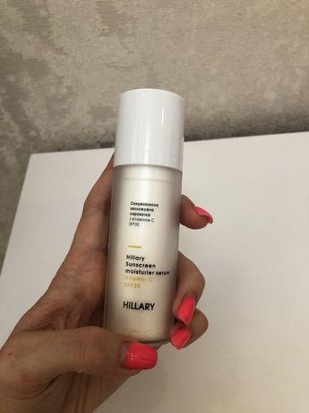 Солнцезащитная увлажняющая сыворотка с витамином С SPF30 Hillary Sunsc