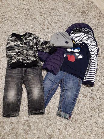 Комплект речей Куртка джинси батнік шапочка