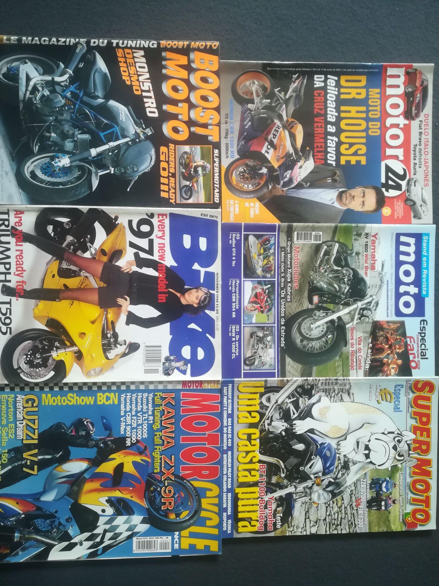 Revistas antigas (motos)