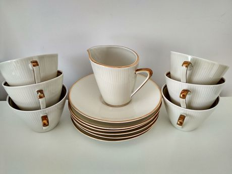 Porcelana, zestaw do kawy Winterling Bawaria