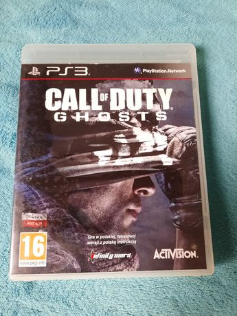 Call of Duty Ghosts super gra na ps 3 polecam !!