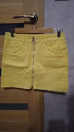Spódniczka żółta