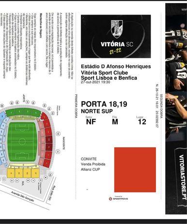 Vitoria SC vs Benfica