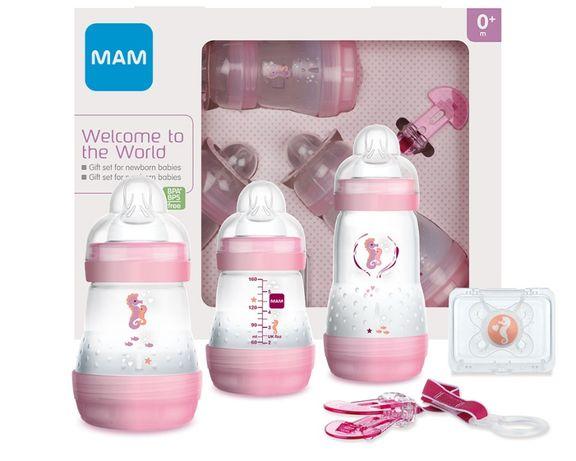 Подарочный набор бутылочек МаМ