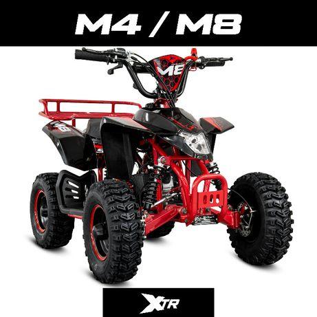 Mini quad 50 Spalinowy M4 Elektryczny 1000W M8 KASK GRATIS