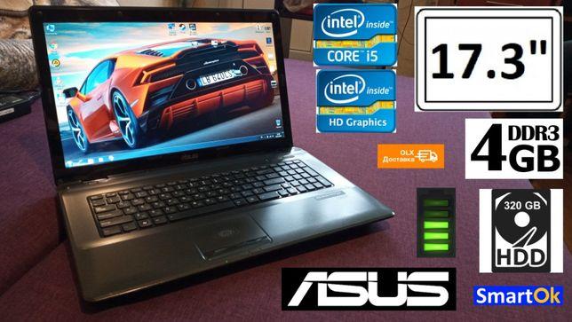 "Asus K72F Большой 17.3"" Core™ i5 RAM 4 GB HDD 320 GB Intel HD бат+"