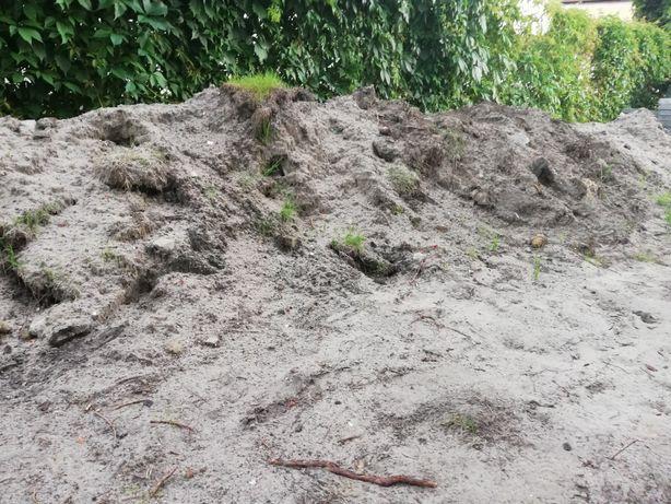 Oddam ziemię z piaskiem na podniesienie, wyrównanie terenu