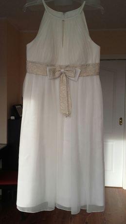 Suknia ecru na ślub