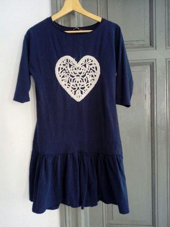Sukienka dresowa damska L