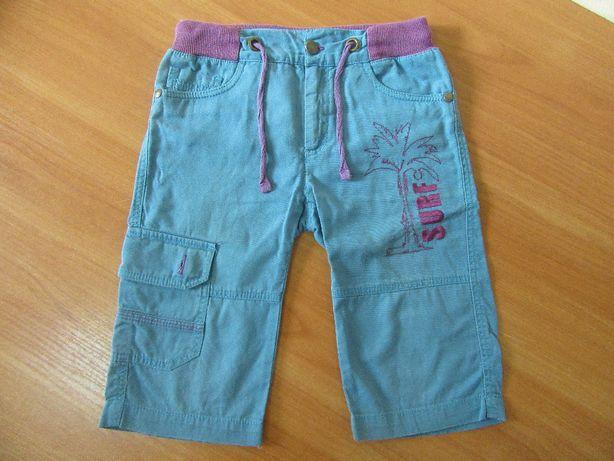 Бриджи штаны шорты мальчику 4 года, рост 104