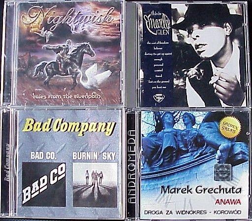 Nightwish - Marla Glen - Bad Company - Marek Grechuta – Anawa, CD