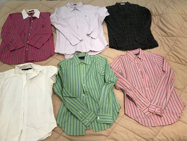 Camisas senhora/mulher Ralph Lauren, Gant, Tommy, Replay, Thomas Burbe