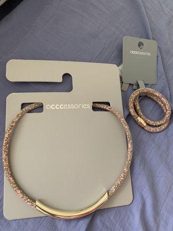 Naszyjnik plus bransoletka