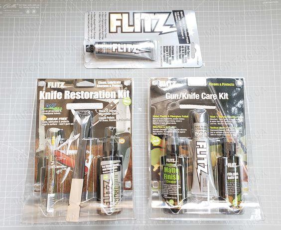 FLITZ Полировочная паста Набор для ножей Набор для ножей и оружия. USA