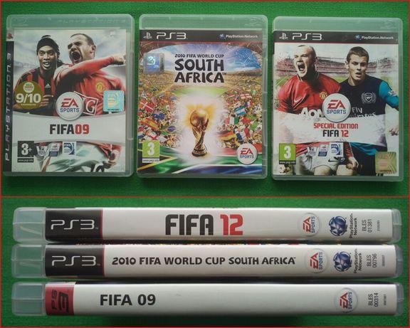 FIFA 09, 12, World Cup 2010 Игры для PS3 Play Station. Лицензия Футбол