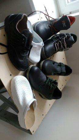 обувь рабочая кожаная