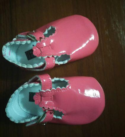 Туфли-пинетки на девочку