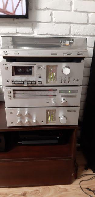 Sony ta-333 +wzmacniacz +tuner +deck+gramofon