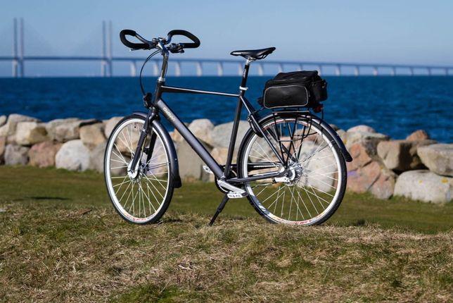 Unikatowy rower DeGaVi Made in Sweden Nexus miejski trekkingowy
