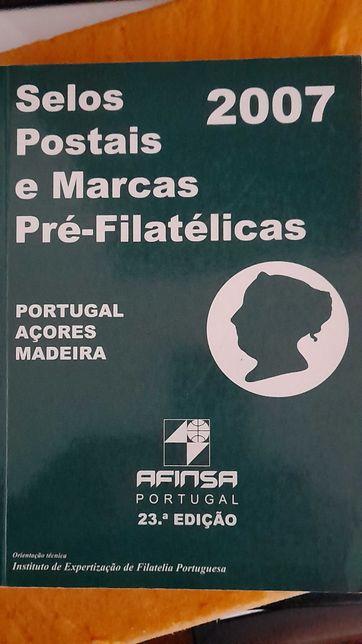 Catálogo Afinsa - Selos Postais e Marcas Pré-Filatélicas 2007