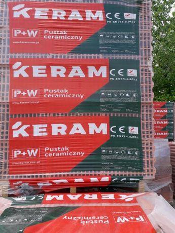 Pustak ceramiczny KERAM 250x345x283 // Transport