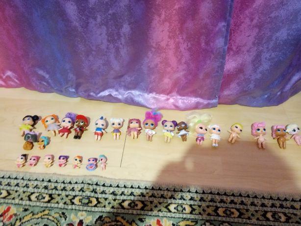 Куклы Лол большие и маленькие.
