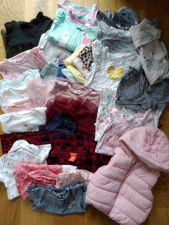 MEGA Paka ubranek dla dziewczynki 12-18m