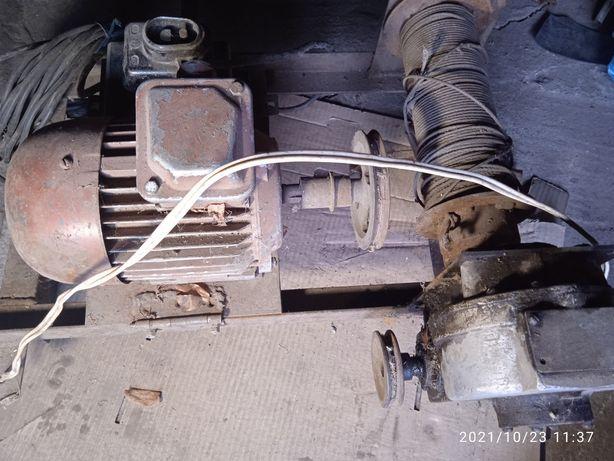 Мотор с редуктором