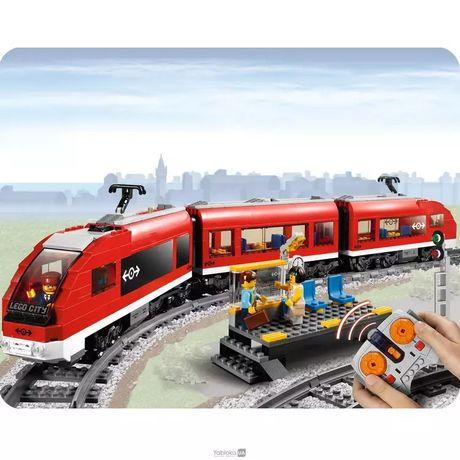 Конструктор Лего Lego 7938 Пассажирский поезд на дистанционном управл