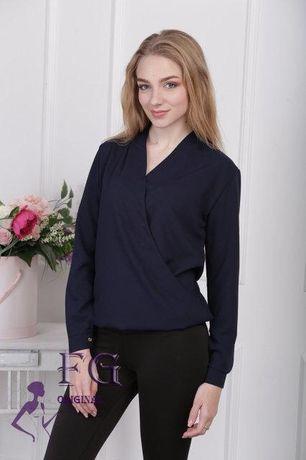 Блуза, блузка на запах XS