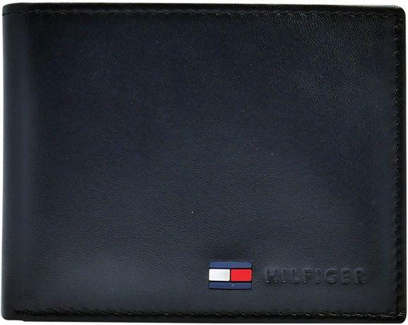 Кожаный кошелек мужской Tommy Hilfiger фирменный портмоне оригинал