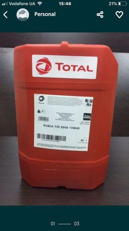 Моторне масло Total Rubia TIR 8900 10w-40