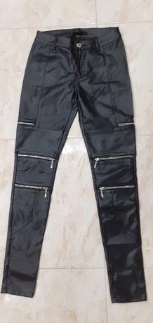 Spodnie Luxury s ekoskora