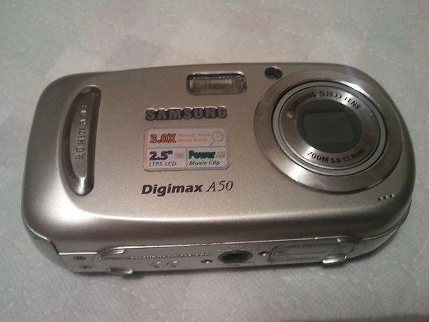 Aparat Fotograficzny Samsung Digimax A50 Do Naprawy Lub Na Części