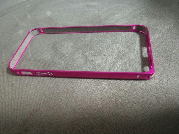 Бампер рамка алюминиевый на iPhone 5 (5c, 5s, 5se)