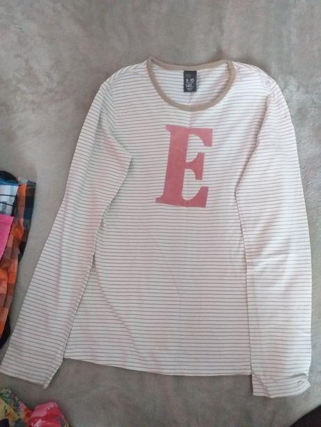 Bluzka z litera E  zara kids