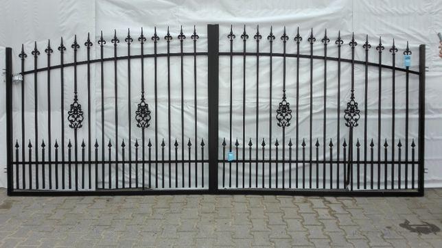 Brama ogrodzeniowa dwuskrzydłowa typ EZ 4m - sama brama !!!