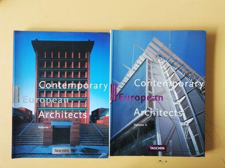 Contemporary European Architects - vol. 1 e 2